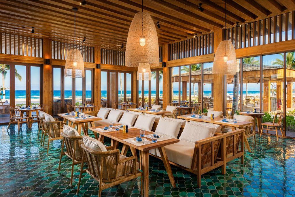 Sở hữu không gian sang trọng với lối thiết kế đơn giản mà tinh tế của resort ALMA
