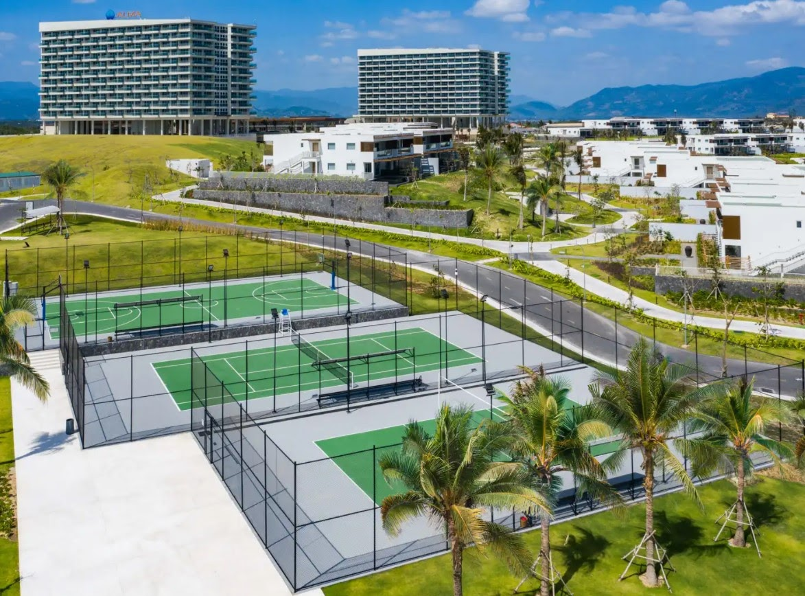 Sân Tennis - ALMA Timeshare